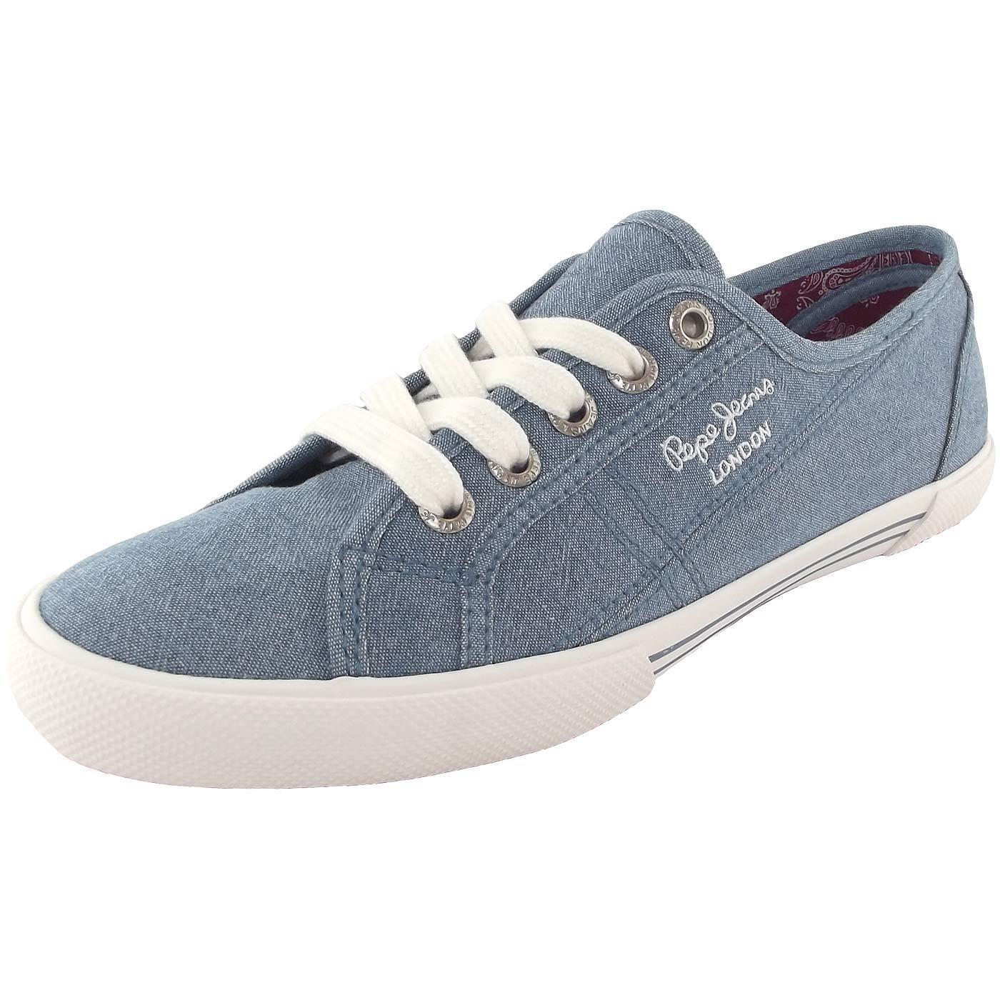 Pepe Jeans Aberlady Eighty mujer mujer mujer zapatillas hellazul (azzurro)  tienda de ventas outlet
