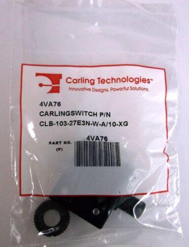 2 Carling Brand Push to Reset Panel Mount 10 amp Circuit Breakers