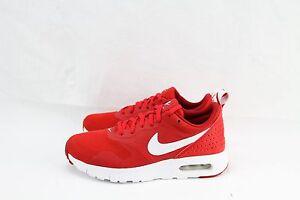 nike air max tavas (gs) university red\/ white-gym red