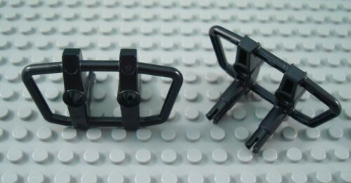 LEGO Lot of 2 Black Technic Car Grill Fronts with Pins