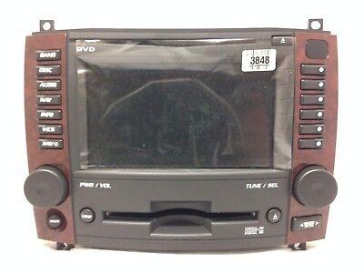 navigation gps cd radio for 2005-07 cadillac cts. oem stereo. factory  original   ebay  ebay