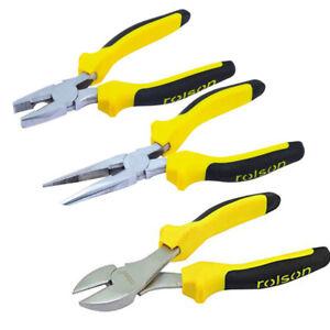 Side Cutter Pince à long nez pince combinaison pince pince Set 3pc