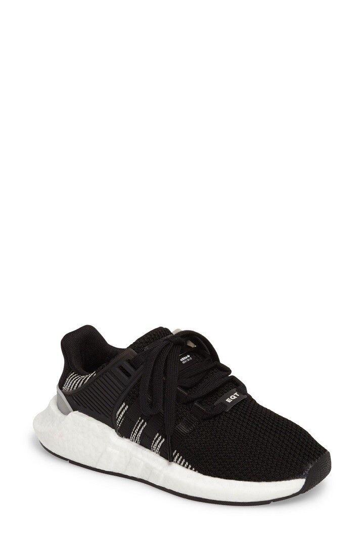 New Adidas EQT Support 93/17 Sneaker - BLACK (Women 4.5/Men 5.5)