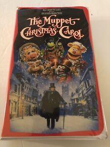 The Muppet Christmas Carol Walt Disney VHS Video Tape Movie Clamshell 717951729033 | eBay