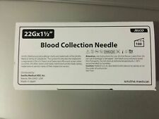 Jelco Multi Sample Blood Collection 80225 22g X 15 Box Of 100 Read Exp
