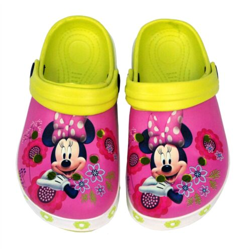 Disney® Minnie Mouse Kids Girls Sandals Beach Pool Slippers Shoes UK 5 to 1