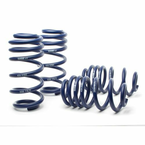 H/&R 29200-2 Sport Lowering Coil Spring For 05-11 Audi A6 2WD//A6 Quattro AWD