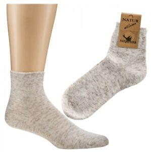 Socken mit Leinen,Größe 35 bis 46,für Damen und Herren 5 oder 10 Paar