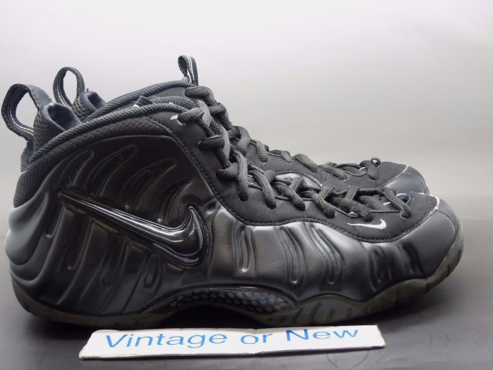 Nike Air Foamposite Pro Black Medium Grey 2004 sz 10
