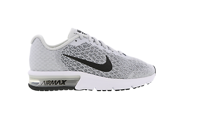 Juniors NIKE AIR MAX SEQUENT 2 GS Black Trainers 869993 013