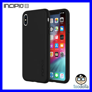 new concept 34d82 f5818 Details about INCIPIO DualPro dual layer shock absorbing protection case,  iPhone XS Max, Black