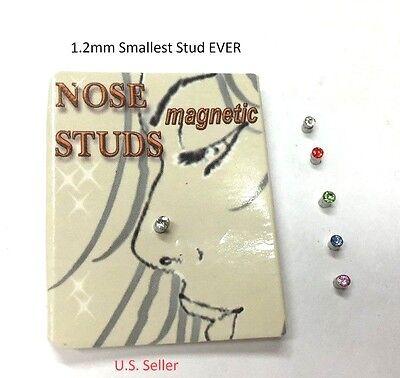 1 5mm Tinny Magnetic Nose Ear Tigrus Stud Earring 5 Colors Ebay