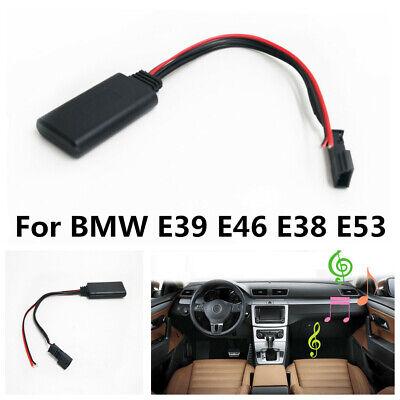 Akozon AUX‑IN Audio Adapter Handsfree Receiver Car Bluetooth Module Navigation Fit for E39 E46 E38 E53 16:9