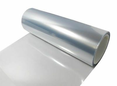 "12""x48"" Clear Tint Headlight Bumper Protection Guard Film Sticker Sheet"