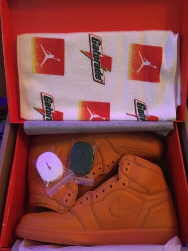1 Uk13 Og Us14 rare High Peel' Air Retro 'orange Nike Gatorade Size Jordan vqX1EF6