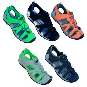 Herren Sandale Trekking Outdoor Freizeitschuhe Sportschuhe Sandalette 82821