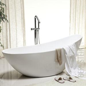 Freistehende Wanne bernstein design badewanne freistehende wanne vice acryl nahtfrei