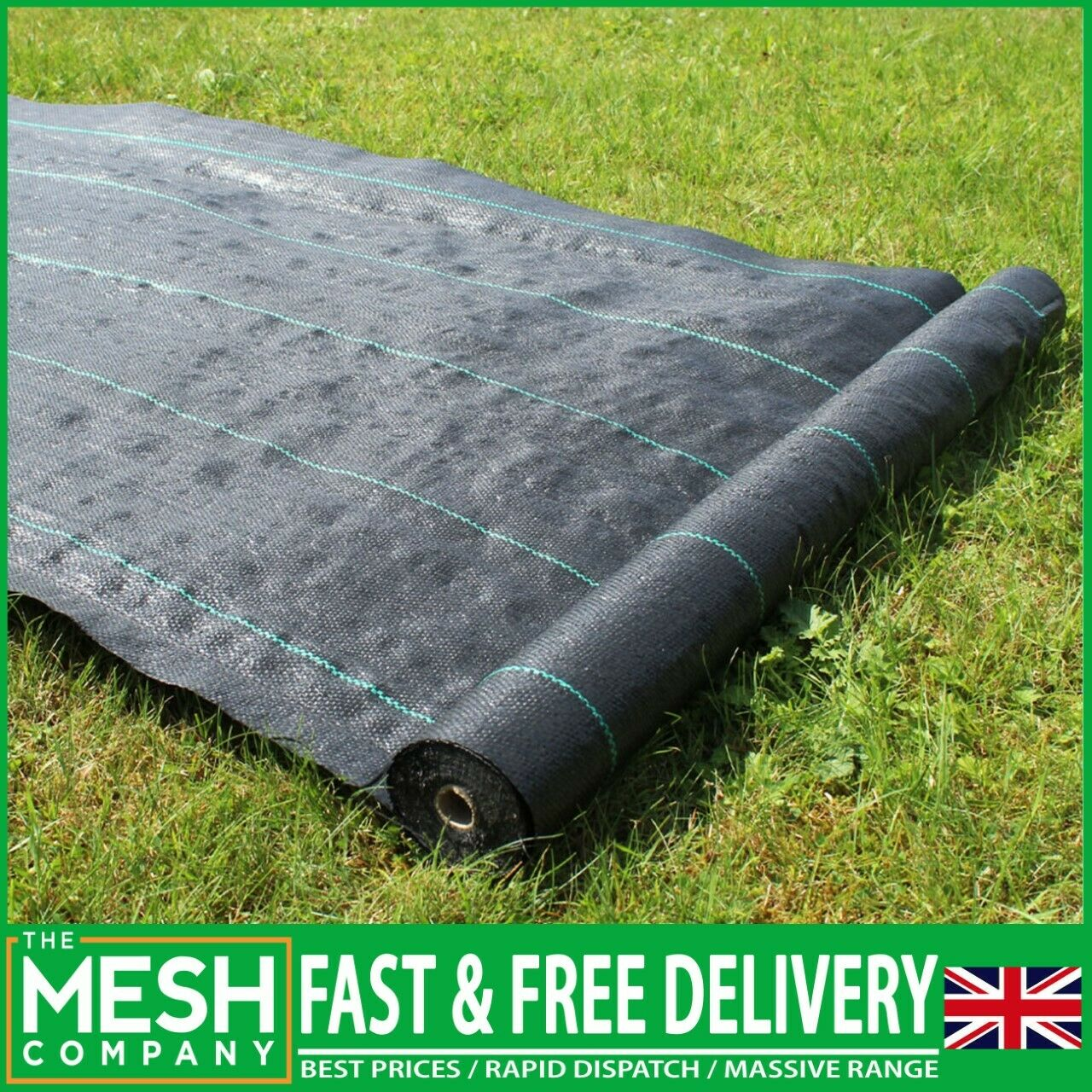 5 Metre x 1M Weed Control Landscape Garden Fabric Ground Cover Sheet Membrane