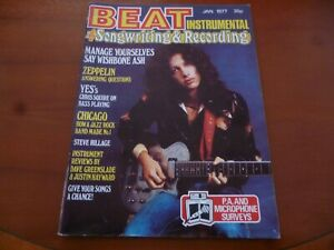 BEAT-INSTRUMENTAL-JANUARY-1977-CHICAGO-LONE-STAR-JUSTIN-HAYWARD-AS-PICTURES