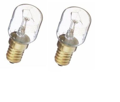 Neff 032196 25W E14 SES Forno /& MICROONDE Lampadina Lampada Pacco da 2