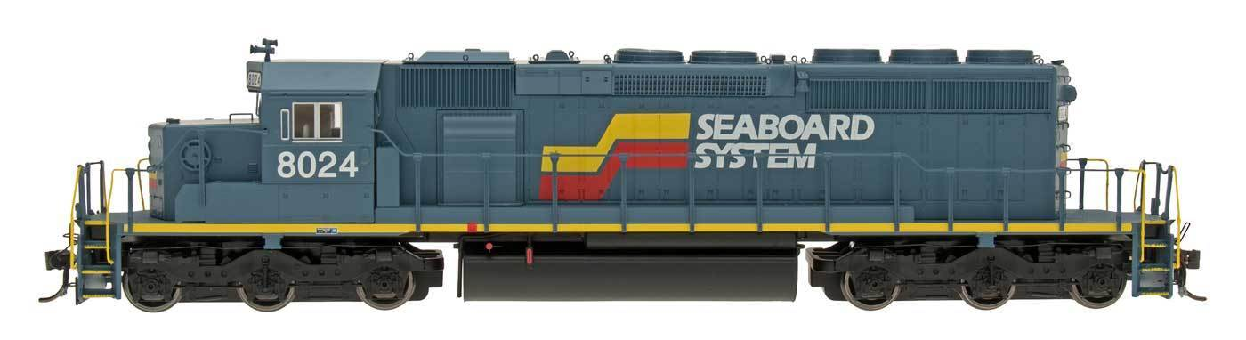 InterMountain HO 49362(S) Seaboard System SD40-2 Locomotive