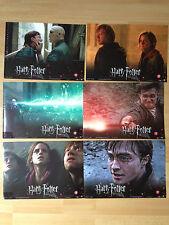 Aushangfotos * 6 AHF Komplettset * Harry Potter 7.2 * Die Heiligtümer des Todes