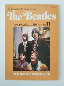 BEATLES-OFFICIAL-MONTHLY-MAGAZINE-NOV-1995-JAPAN