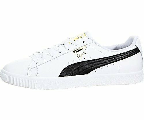Puma Clyde Foil Core Seleziona Mens New Sneaker colore oro Sz TwqdvOTn