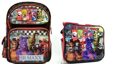"""Five Nights at Freddys Large 16/"""" inches Backpack New Licensed Product with Tags"""