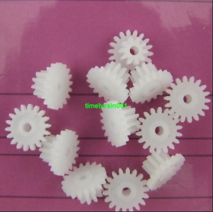 10pcs 18102A Reducer gears Double 10mm layer plastic motor gear 18+10 Teeth