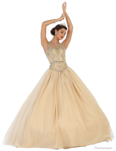 Quinceanera Mascarade Danse Neuf 16 Boule Militaire Concours Bal Sweet Robe zzFfq8w