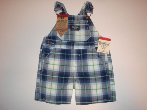 Oshkosh B/'gosh Shortalls Overalls ~ Pick Your Size /& Color ~ NWT MSRP $32.00
