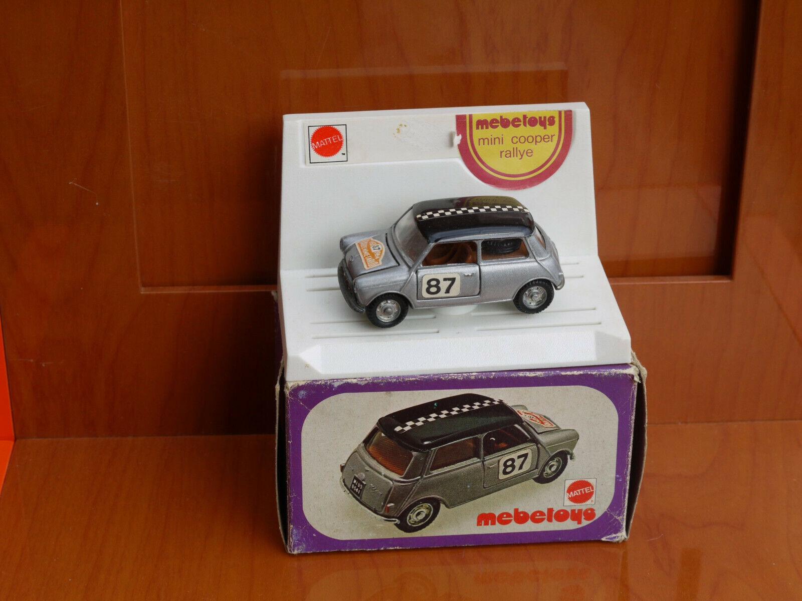 MEBETOYS A31 Mini Cooper Rallye 1 43 MB con scatola