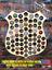 Police-Badge-Custom-Beer-Pop-Cap-Holder-Collection-Display-Art-Gift-Man-Cave thumbnail 1