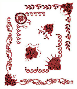 Abc Designs Ancient Gothic Cutwork Machine Embroidery Designs Set 5