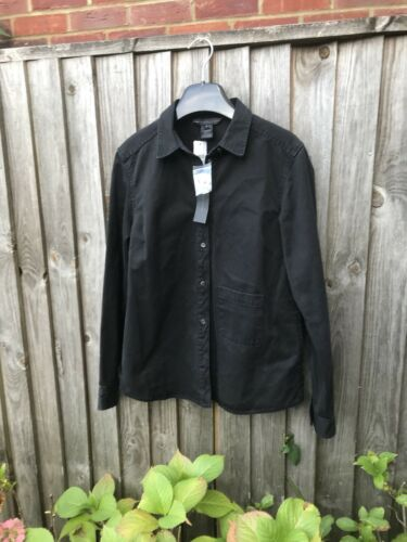 Jacket Uk Marc Womens Shirt 10 Black By S Jacobs Size 8 Denim Xp4xaFwp