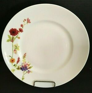 Gorgeous-222-Fifth-034-Thea-034-Bone-China-Floral-Pattern-Dinner-Plates-Great-Color