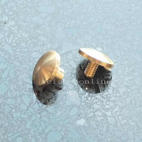 4 mm 6 mm 8 mm 10 mm Bouton Clous vis clou en forme de dôme Arc Screwback Chicago rivet laiton