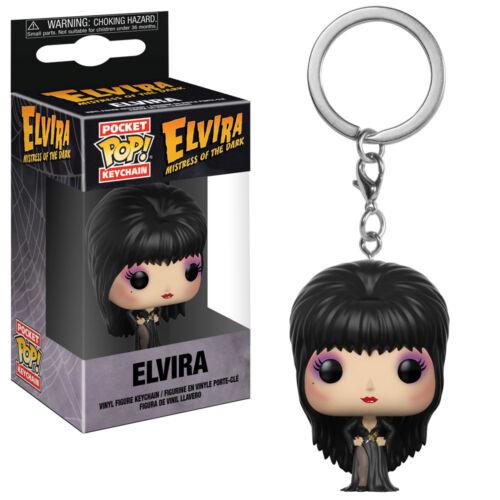 ELVIRA Keychain Funko Pocket POP New in Box Elvira Mistress of the Dark