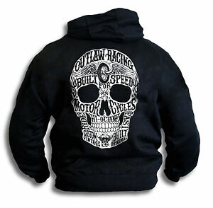 Big-Skull-Biker-Outlaw-Built-for-Speed-Custom-Vintatage-Mens-Hoodie-Top-Sm-2XL