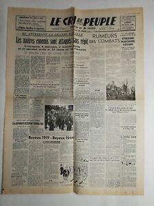 N253-La-Une-Du-Journal-Le-cri-du-peuple-12-juin-1944-navires-ennemis-attaques