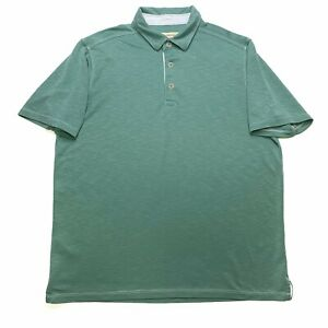 Tommy-Bahama-Mens-Short-Sleeve-Polo-Shirt-Size-Large-L-Marlin-Light-Green