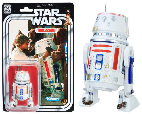 STAR WARS 40TH ANNIVERSARY R5-D4 GAMESTOP EXCLUSIVE FREE SHIPPING