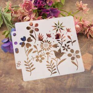 Border//Metal//Stencil//Leaf//Floral//Delicate//Ivy//emboss//Stainless//Steel