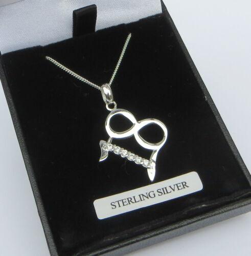 Collar de plata esterlina 18th Cumpleaños Caja Proveedor Reino Unido Libre