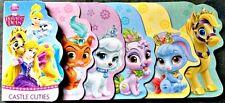 "DISNEY Animals BOARD Flip BOOK ""Castle Cuties"" Boys Girls English Ages 4+ NEW!"