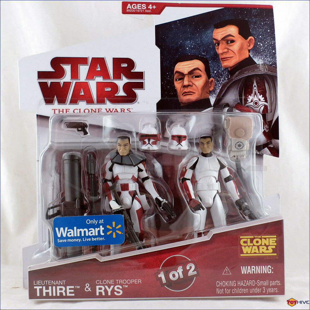 Stjärnornas krig Den animerade klonkrigen 2008 Löjtnant Thire och Clone Trooper Rys