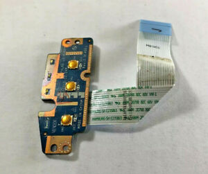 PAL60-LS-6562P-Dell-Latitude-E6520-Power-amp-Volume-Button-Board-w-Cable-GENUINE