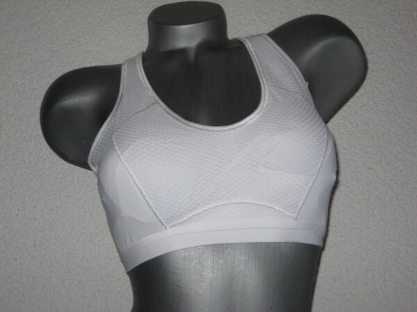 "Triumph Sport-BH ""High Action Top"" Gr. 80 D weiß 1.Wahl Triaction-Serie bügellos"