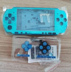 Blue-Housing-Shell-Case-Cover-For-PSP3000-PSP-3000-Console-Replacement-Repair